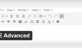 Wordpress TinyMCE Advanced Eklentisi