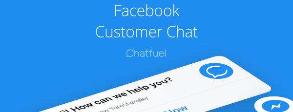 Facebook Messenger Müşteri Sohbet Eklentisi ve Küçük İşletme Trendleri