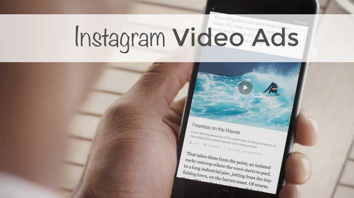 instagram video reklamı